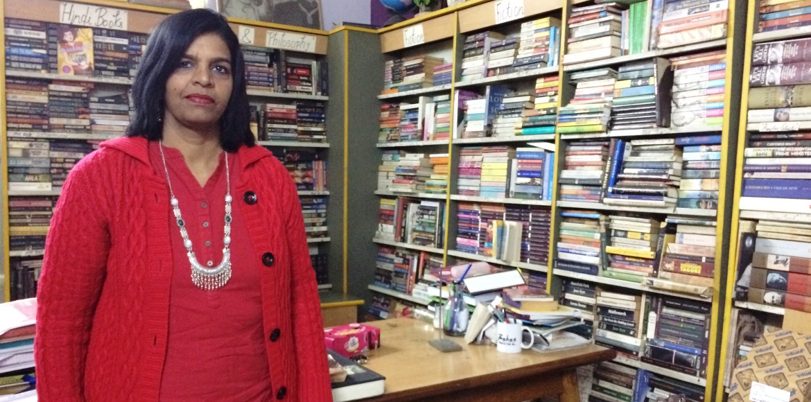Did you know about this library in Indirapuram's Sun Tower?
