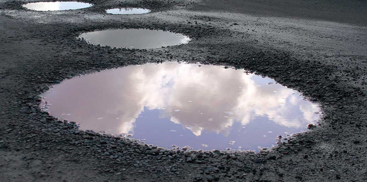 Gurgaon: Why are South City roads not being repair
