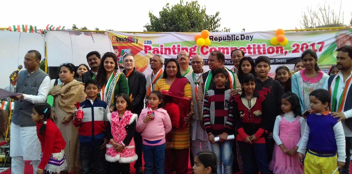 <p>PHOTO KATHA: Dwarka City organises a painting competition</p>