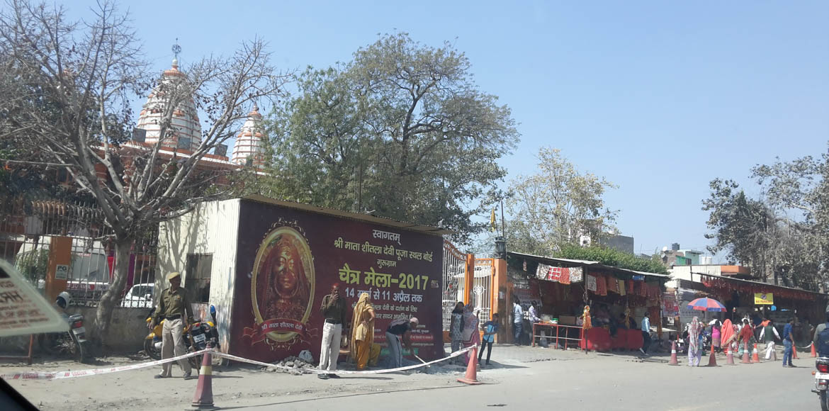 Gurgaon: Traffic advisory for Chaitra Mela at Sheetla Mata Mandir