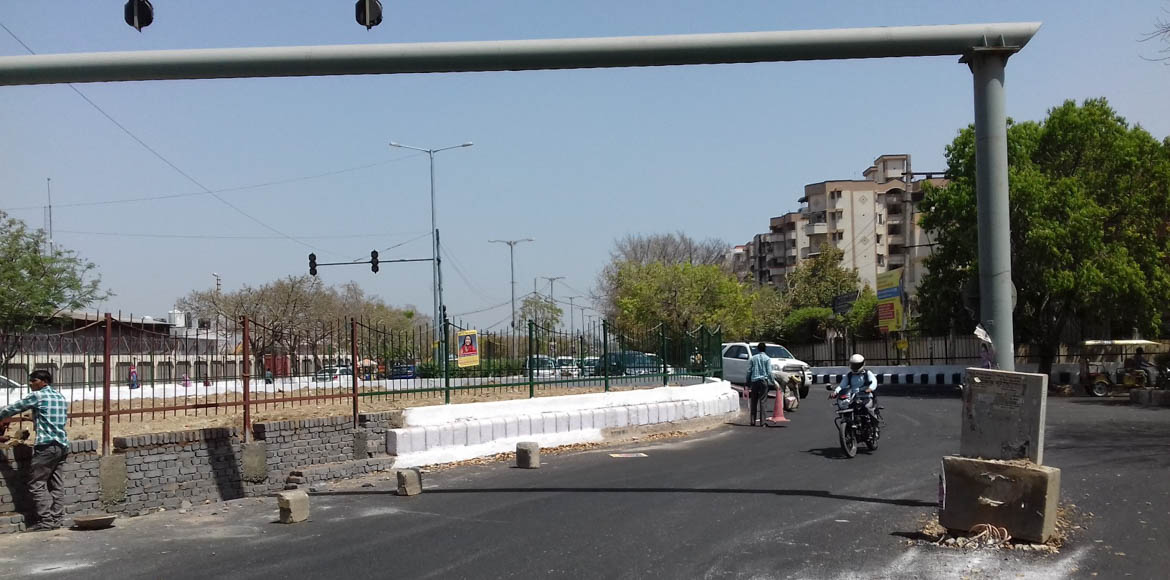 Why residents disapprove of this roundabout in Dwarka
