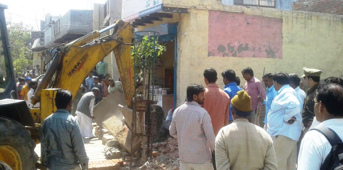 Ghaziabad: Anti-encroachment drive till March 24