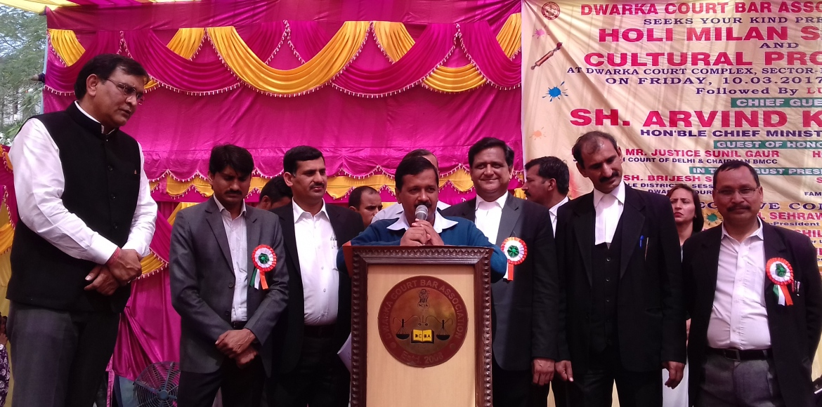 Kejriwal agrees to Dwarka lawyers' charter of demands