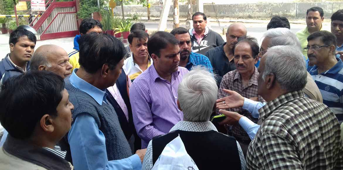 Dwarka: Sector 11 raises water supply concerns with area MLA