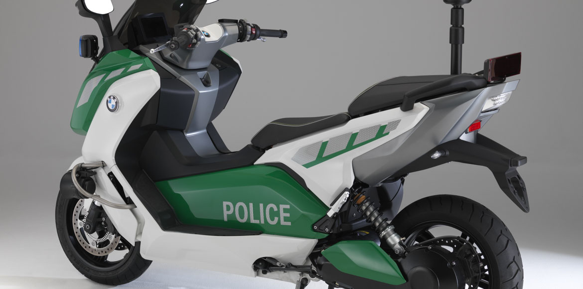 Scooters for women police personnel in Gurgaon