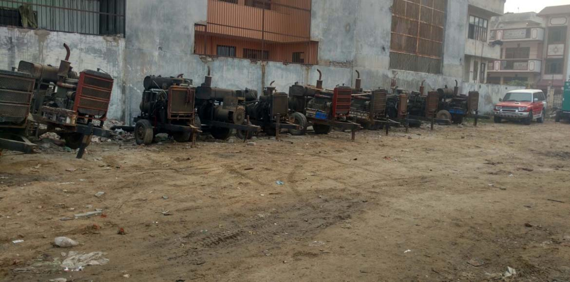 Noida: Sector 51 calls attention to 'illegal' genset repair shop