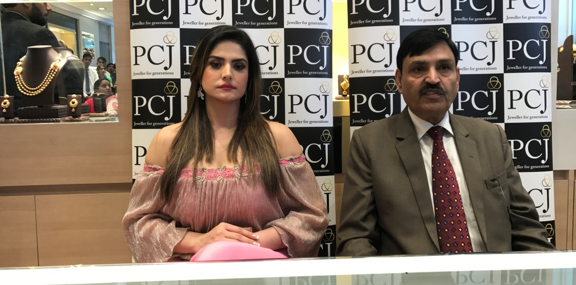 Zareen Khan: 'Every time I come to Dwarka I see something new'