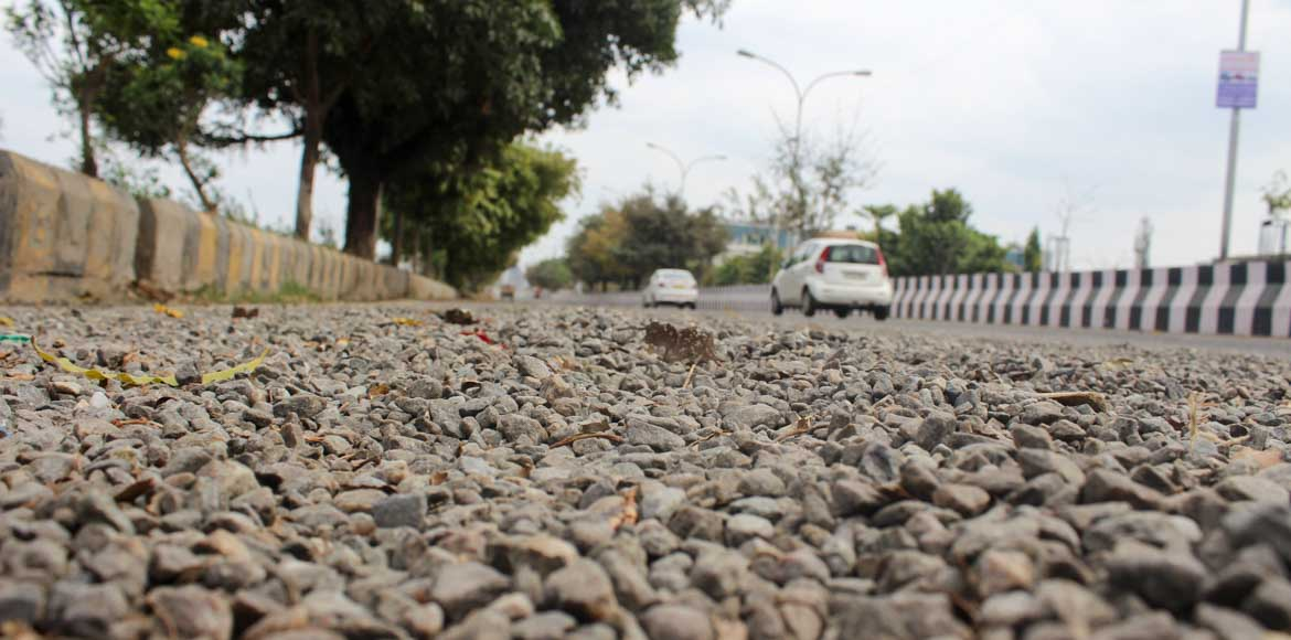 Noida, Sector 92: Why do the vehicles skid?