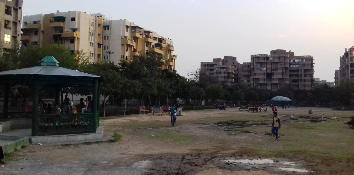 Dwarka, Sector 3: Is that a park!