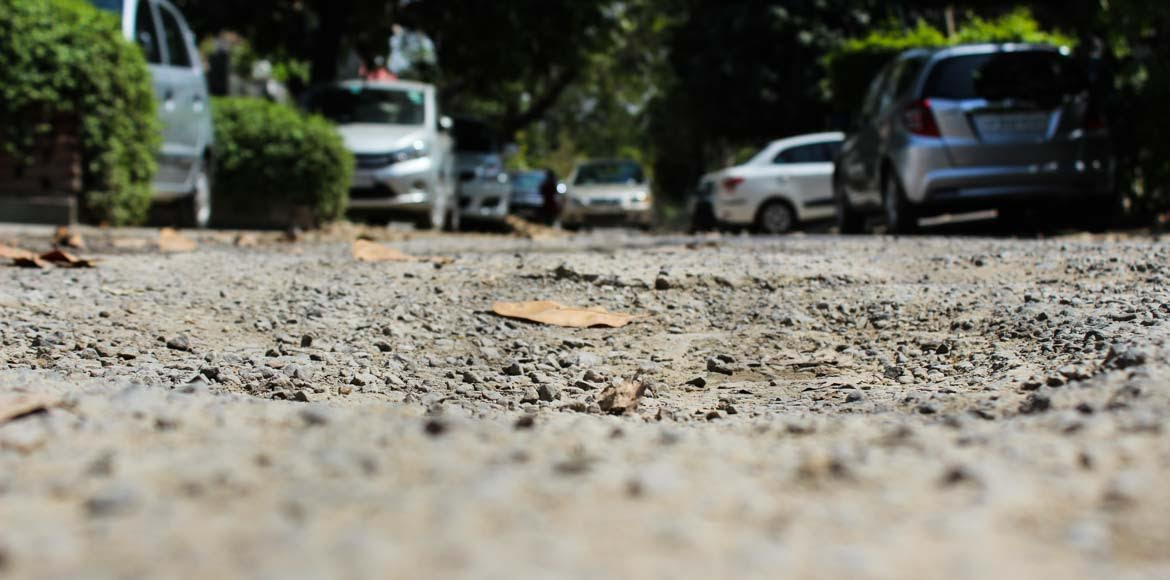 Sec 30, Noida: It's been a year but the roads are
