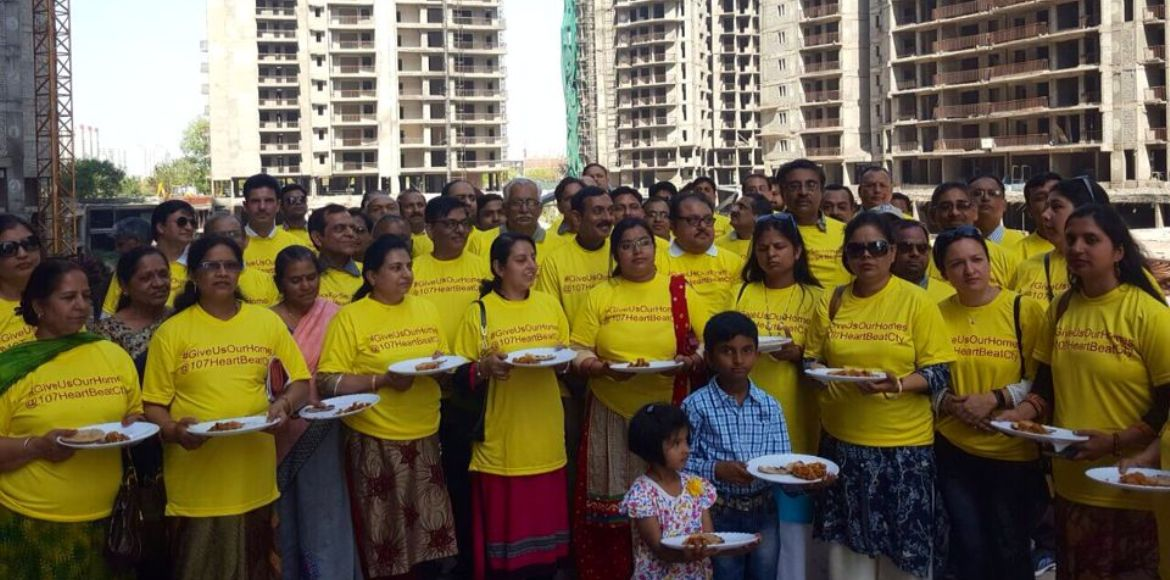 Amrapali Heartbeat City, Noida: Buyers have been A