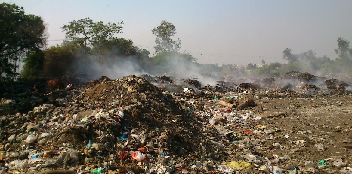 Gurgaon: See a vacant plot? Dump garbage!