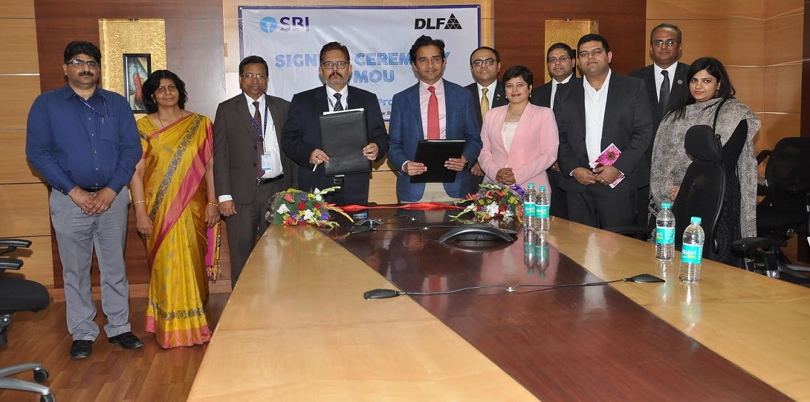 DLF collaborates with SBI to provide quality services to customers