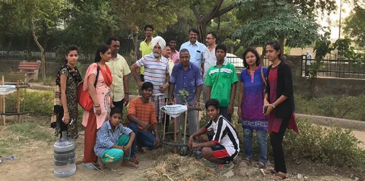 Dwarka: A day dedicated to plants