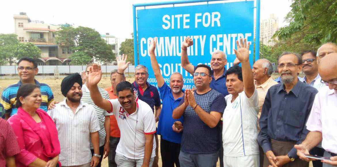 Yay! A community centre for South City II residents soon
