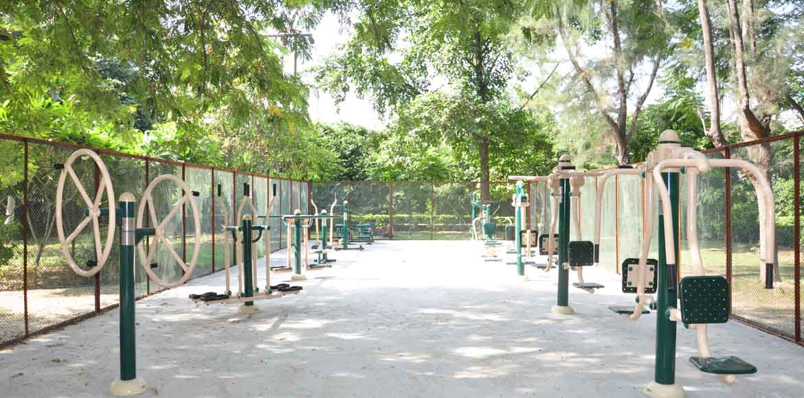 City Forest to get Ghaziabad's largest open-air gym!
