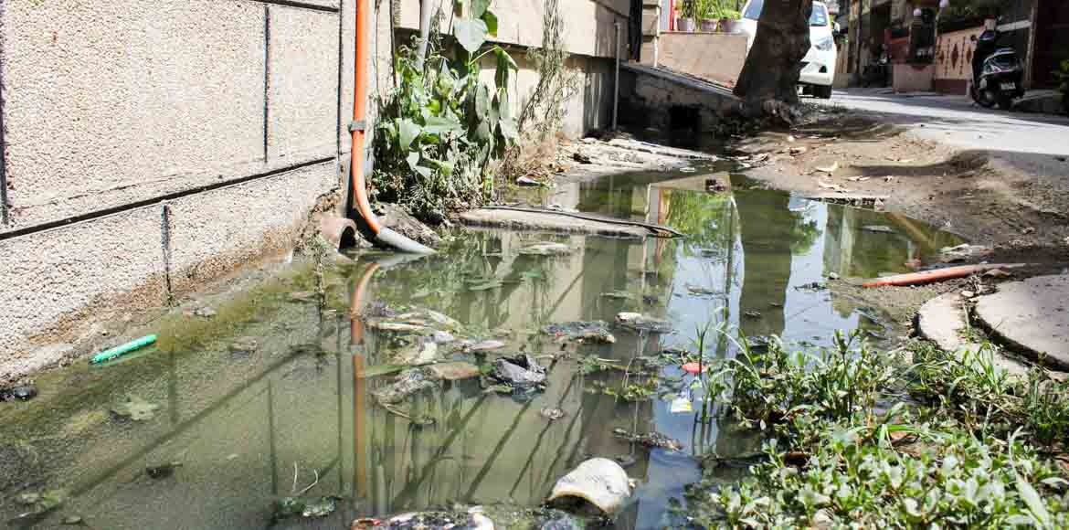 Sec 15: Clogged drain exposes lack of planning by