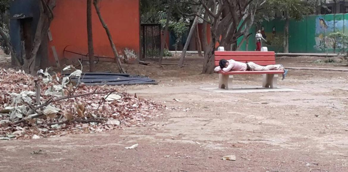 Gurgaon: The park that was...