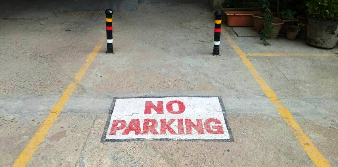 Shivam Apartments, Dwarka: You know exactly where to park now, right?