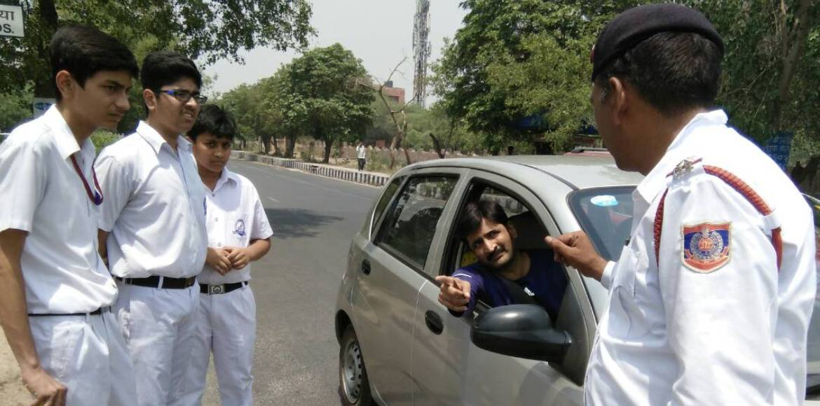 Let these Dwarka kids teach you some traffic rules...