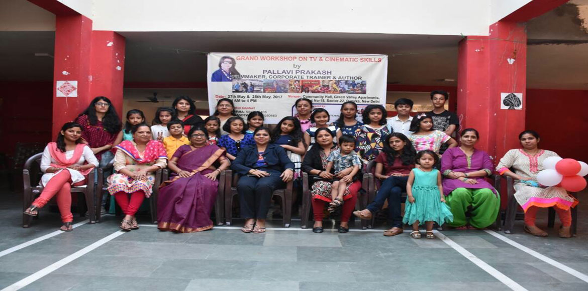Sec 22, Dwarka: Kids get first lessons in acting