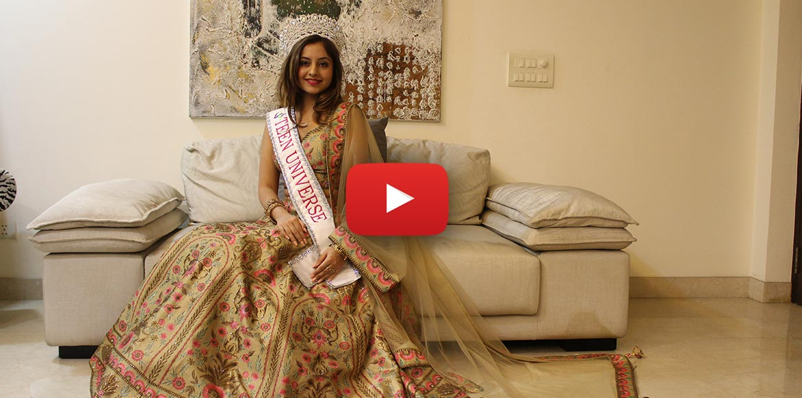 Watch this Noida teenager bare it all post her Miss Teen Universe crown