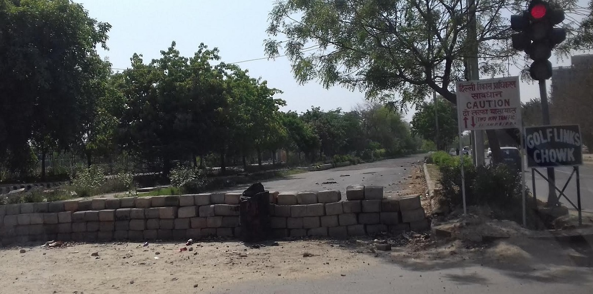 Dwarka: Master Plan Road dug up for no reason and then closed to traffic?