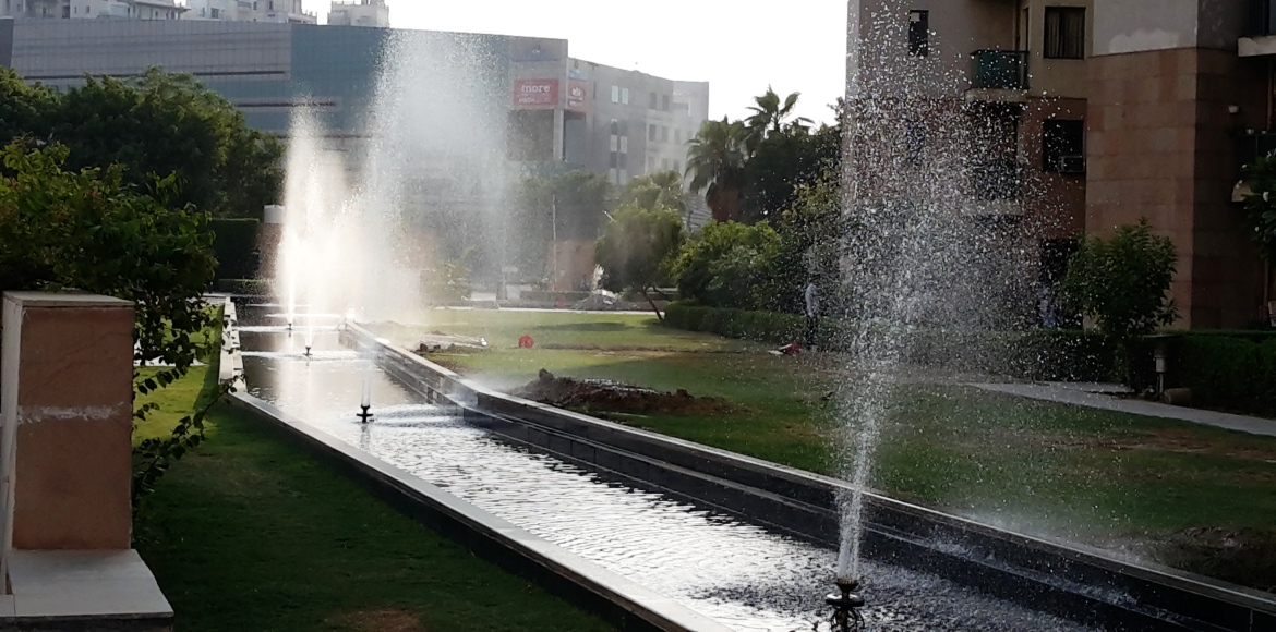 Uniworld Gardens I: This summer, take a walk by the fountains