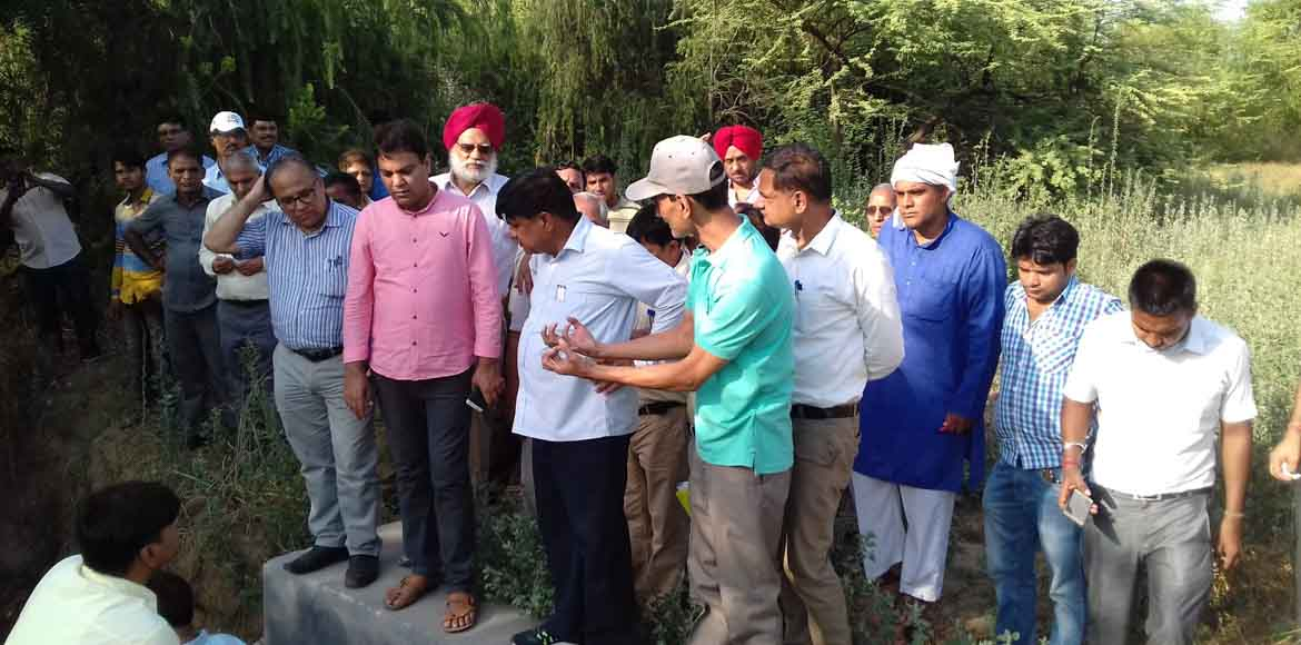 Dwarka: Water minister visits Sec 23 water body