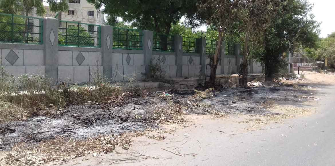 Will nothing curb the burning of dry leaves in Dwa