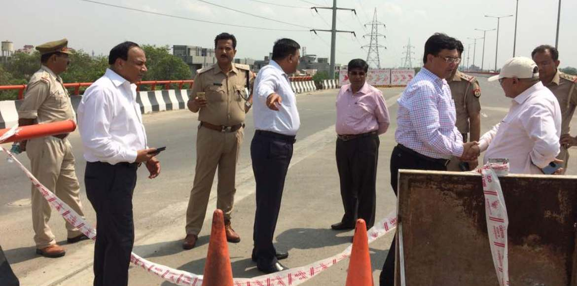 Noida Authority inspects Elevated Road for inauguration tomorrow