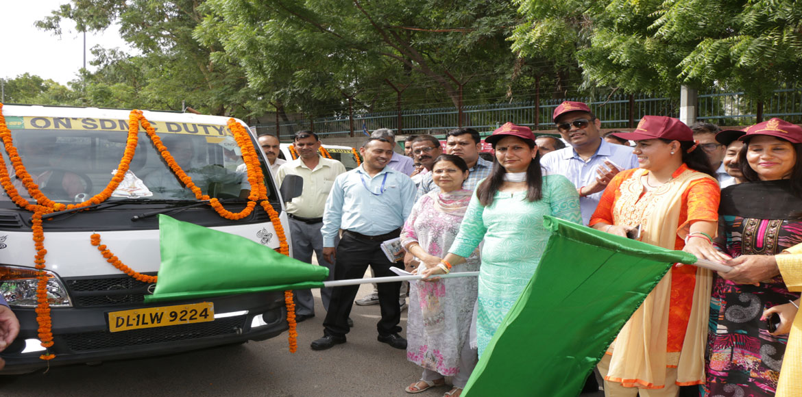 SDMC mayor flags off 50 auto tippers in fight against vector-borne diseases