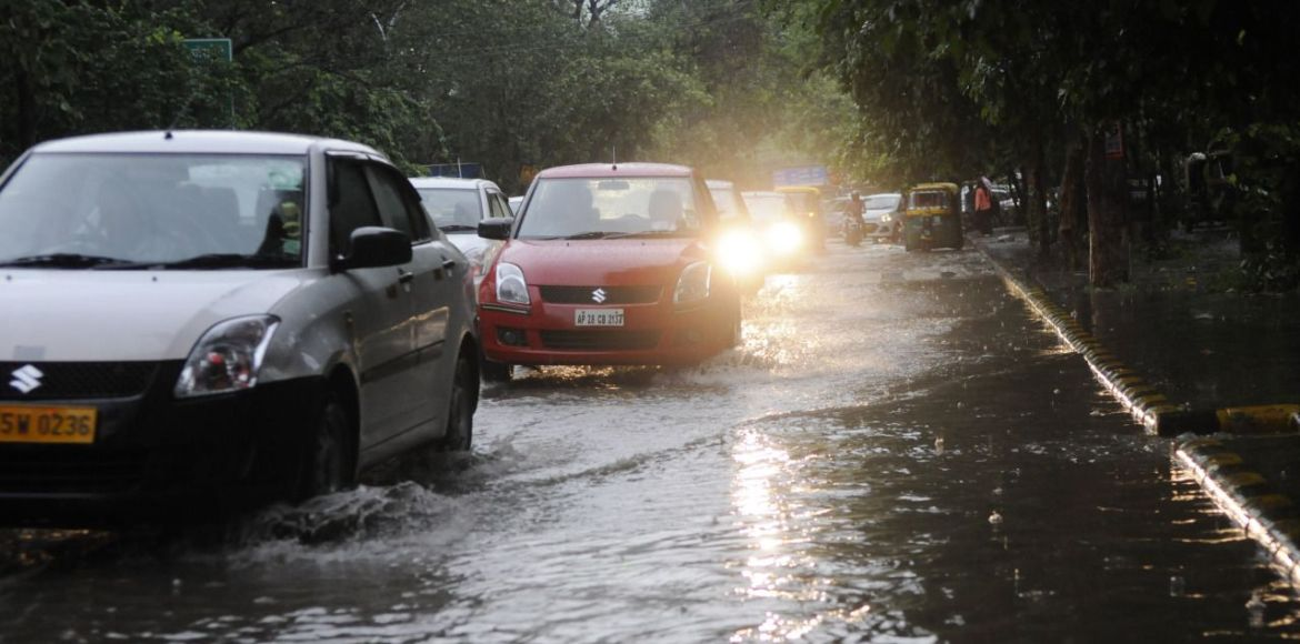 Gurgaon, Sector 28: Waterlogged at the first sight