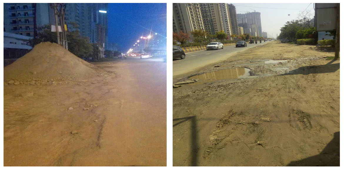 Smooth roads in Noida by June 15? Nope.