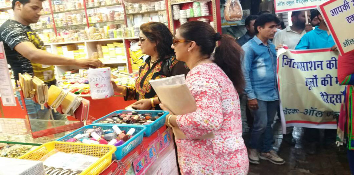 Gzb parents collect funds to raise awareness about their rights