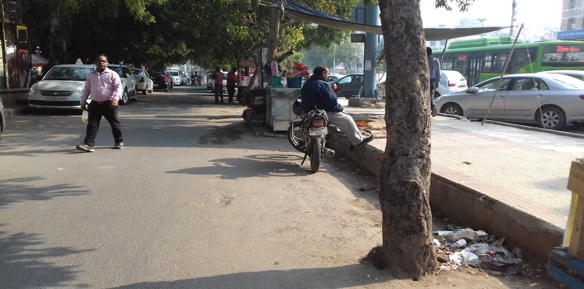 Dwarka: Look, what they have done to the trees