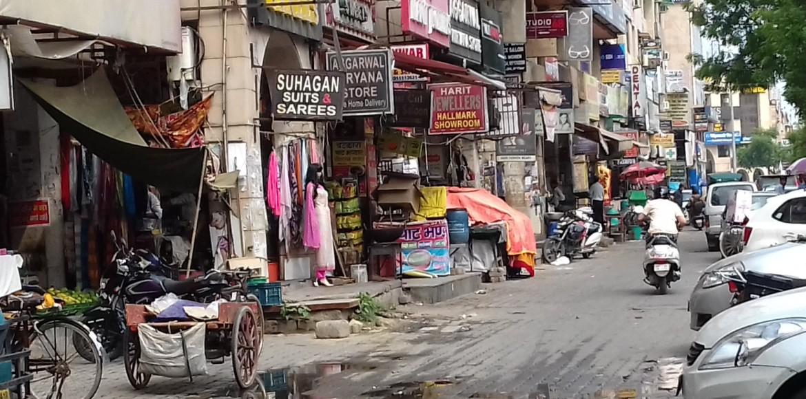 Dwarka: Why rains turn markets of sectors 4 and 12 into an eyesore