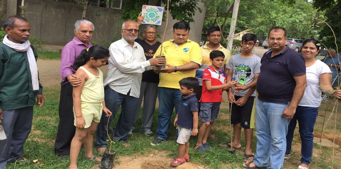 Gurgaon, Sec 56: Residents come forward to adopt trees