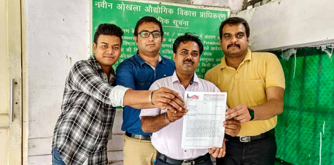 Antriksh Golf View II residents complain against illegal construction