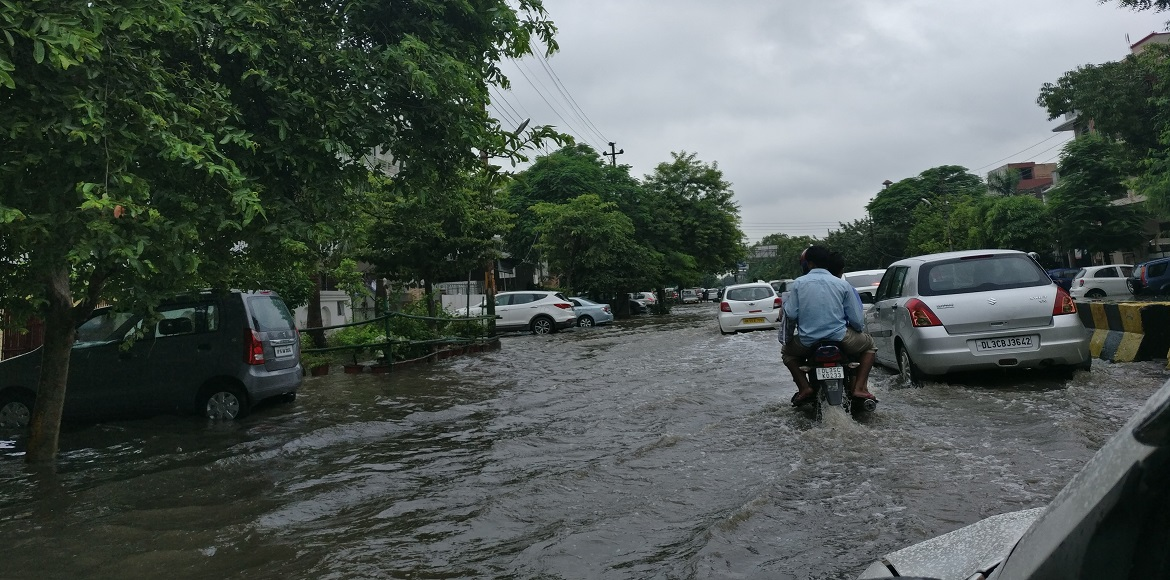 Waterlogging in I'puram was so bad residents felt