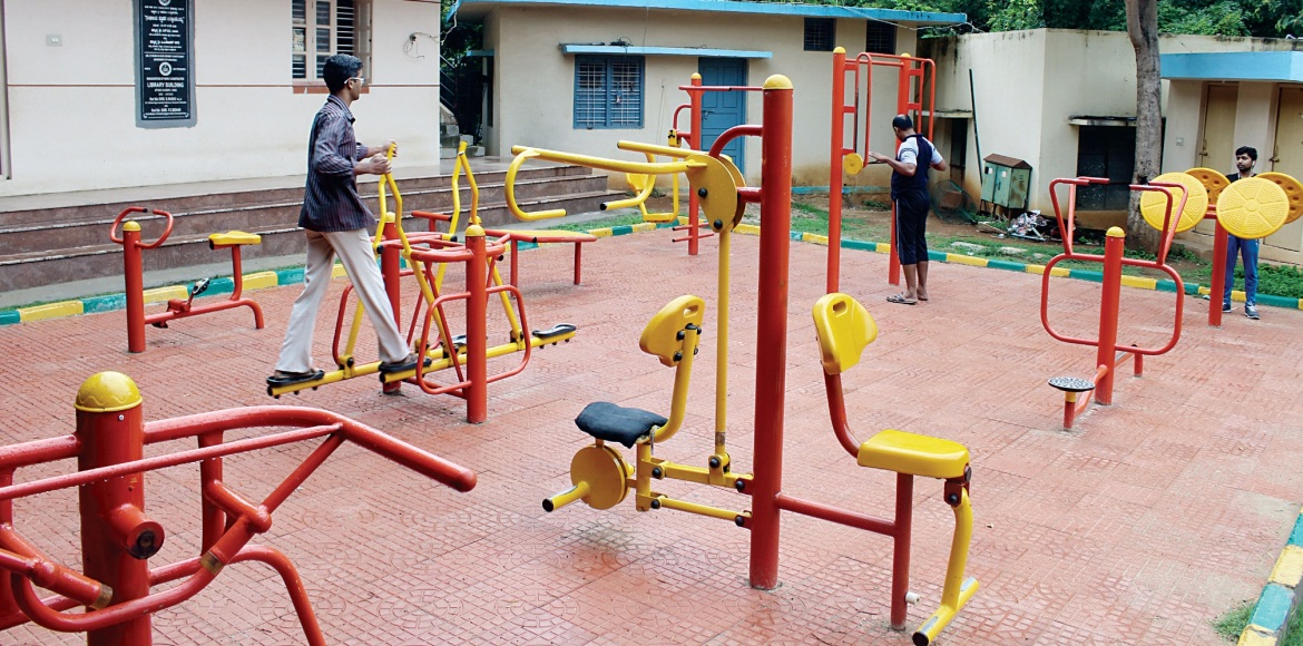 Noida: Hit the gym under the open skies!