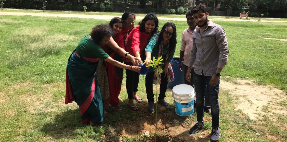 Dwarka: ANHLGT leaves green footprint in Sector 5 park