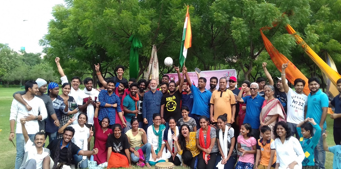 Janasamskriti Youth Wing celebrates Independence D