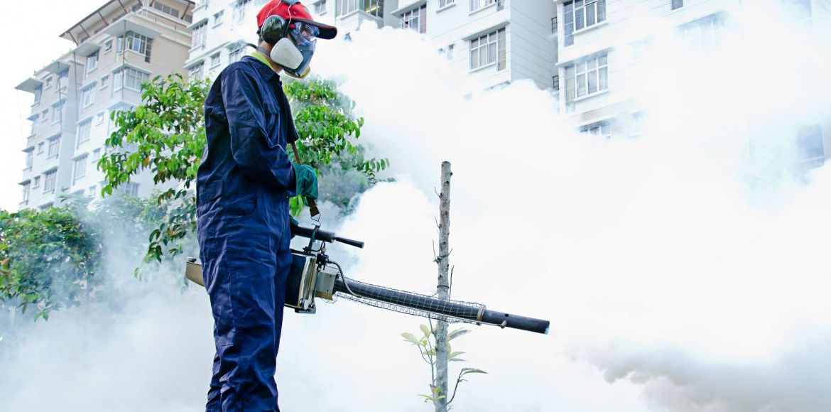 20 fogging machines for a population of six lakhs!