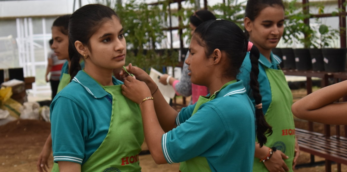 Girls from rural Haryana to be trained in nursery management