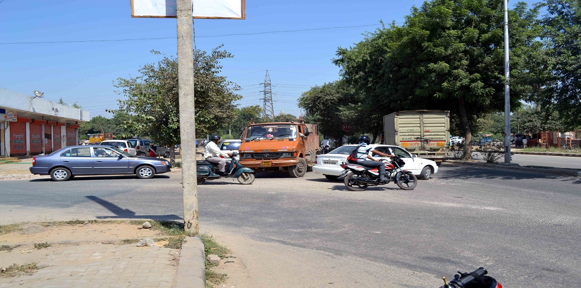 See someone driving on the wrong side? You are probably in Dwarka
