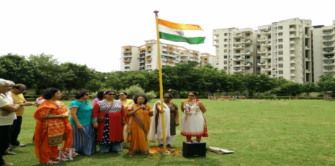 Dwarka planted trees to mark 70 years of independe