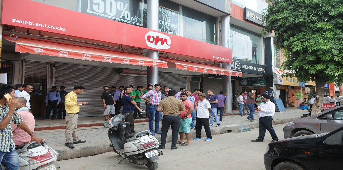 You probably saw many markets in Gurgaon closed today. Here's why