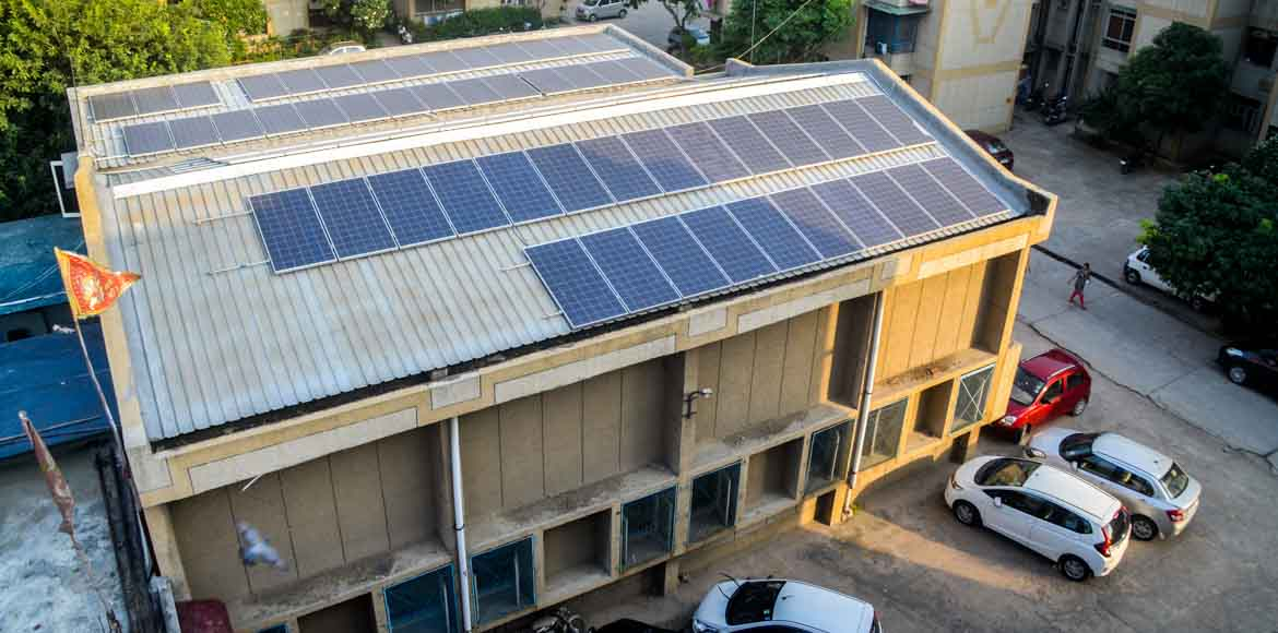 I'puram: Rail Vihar roots for solar power in common areas