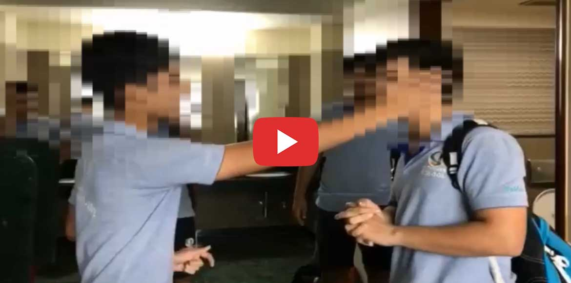 'Slap bet' Pathways video draws flak; students suspended